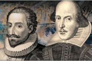 CERVANTES Y SHAKESPEARE, HERMANOS DE TINTA. INK BROTHERS